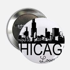 """Someone in Chicago Loves Me S 2.25"""" Button"""
