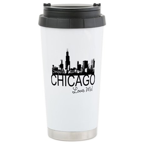 Someone in Chicago Loves Me S Stainless Steel Trav