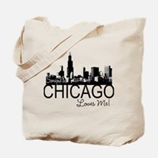 Someone in Chicago Loves Me S Tote Bag