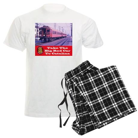 Pacific Electric To Catalina Men's Light Pajamas