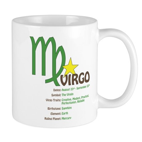 Virgo Traits Mug