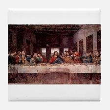 da Vinci Last Supper Tile Coaster
