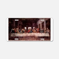da Vinci Last Supper Aluminum License Plate