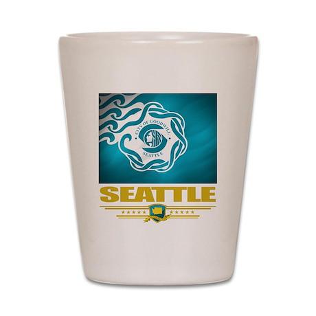Seattle Pride Shot Glass