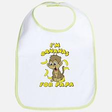 I'm Bananas For Papa Bib