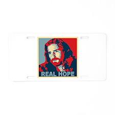 Real Hope Jesus Aluminum License Plate
