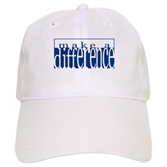 Make a Difference Baseball Cap