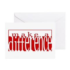 Make a Difference Greeting Cards (Pk of 10)