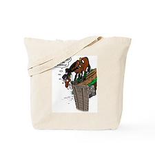 Drop Jump Tote Bag
