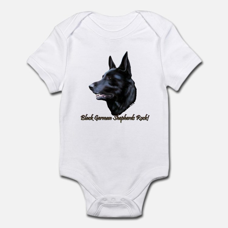 Black german shepherd baby clothes amp gifts baby clothing blankets bibs amp more