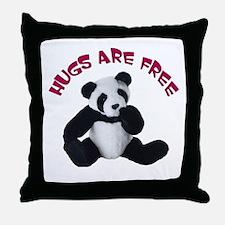 Panda Bear toy Throw Pillow