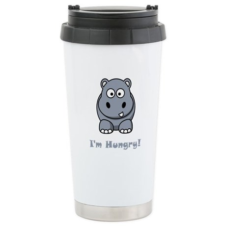 I'm Hungry Hippo Stainless Steel Travel Mug