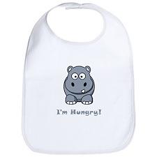 I'm Hungry Hippo Bib