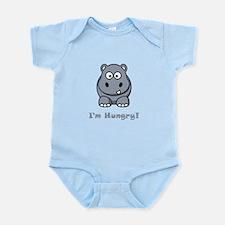 I'm Hungry Hippo Infant Bodysuit