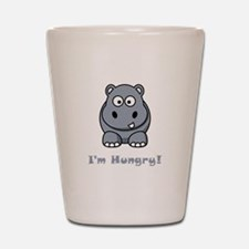 I'm Hungry Hippo Shot Glass