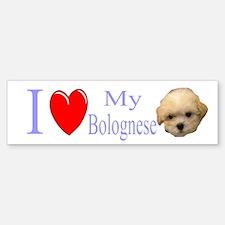 Cute Bolognese Sticker (Bumper)