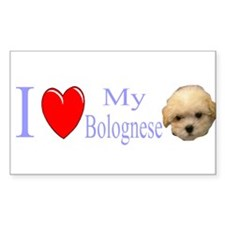 Cute Bolognese Decal