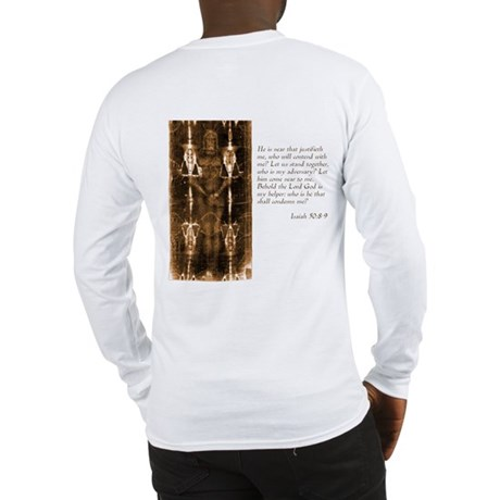 Shroud of Turin Long Sleeve T-Shirt