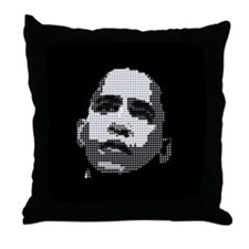 Obama Pop Art Throw Pillow