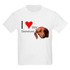 Unique I love dachshunds T-Shirt