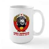 Code monkey Coffee Mugs