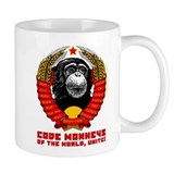 Code monkey Coffee Mugs