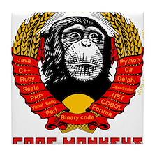 Code Monkeys of the World, Unite! Tile Coaster