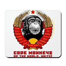 Code Monkeys of the World, Unite! Mousepad