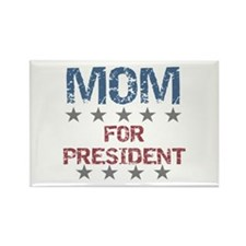 Mom For President Rectangle Magnet