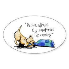 Be Not Afraid Decal