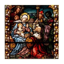 Adoration of the Magi Tile Coaster
