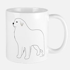 Great Pyrenees Outline Mug