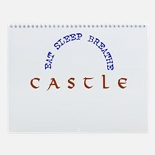Castle 12 month Wall Calendar
