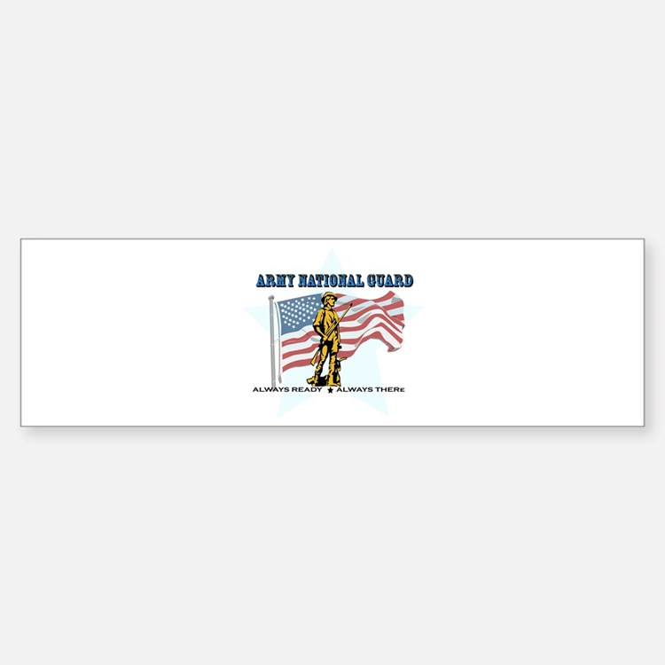Army National Guard Bumper Bumper Sticker