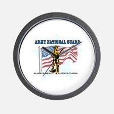 Army National Guard Wall Clock
