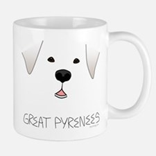 Great Pyrenees Face Mug
