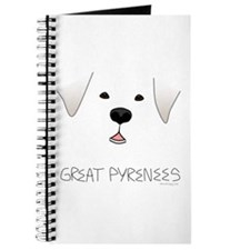 Great Pyrenees Face Journal