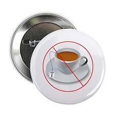 """No Tea Party 2.25"""" Button"""