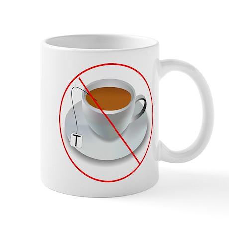 No Tea Party Mug