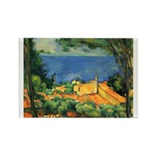 Cézanne Artzsake Rectangle Magnet (10 pack)