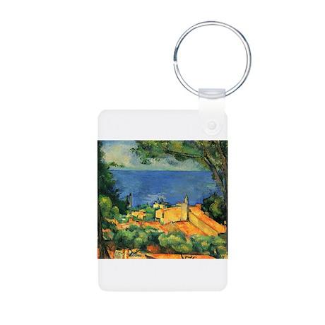Cézanne Artzsake Aluminum Photo Keychain