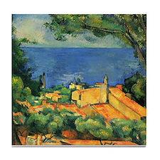 Cézanne Artzsake Tile Coaster