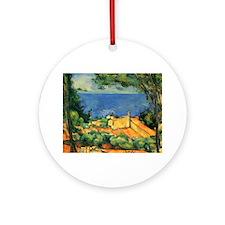 Cézanne Artzsake Ornament (Round)