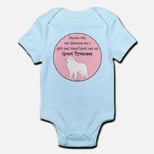 Girls Best Friend Infant Bodysuit