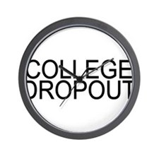 College Dropout Wall Clock