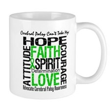 Cerebral Palsy Can'tTakeHope Small Mugs