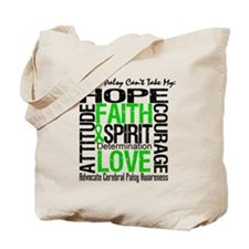 Cerebral Palsy Can'tTakeHope Tote Bag