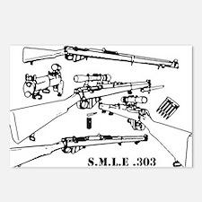 Unique Rifle Postcards (Package of 8)
