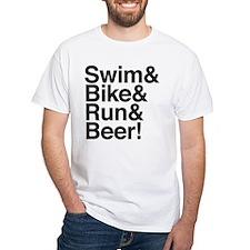 Triathletes for Beer! Shirt