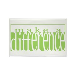 Make a Difference Rectangle Magnet
